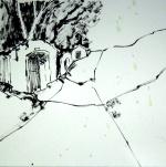 aquarell, keller, waldviertel, niederösterreich, retzerland