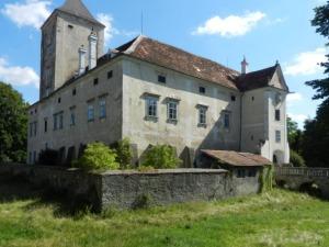 waldviertel, oberhöflein, schloss, castle